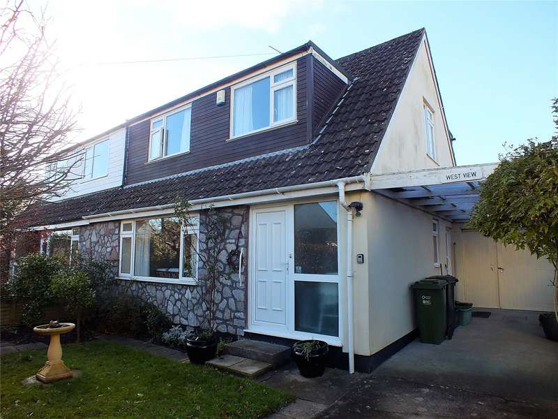 3 Bedrooms Semi Detached House for sale in Quab Lane Wedmore Somerset BS28