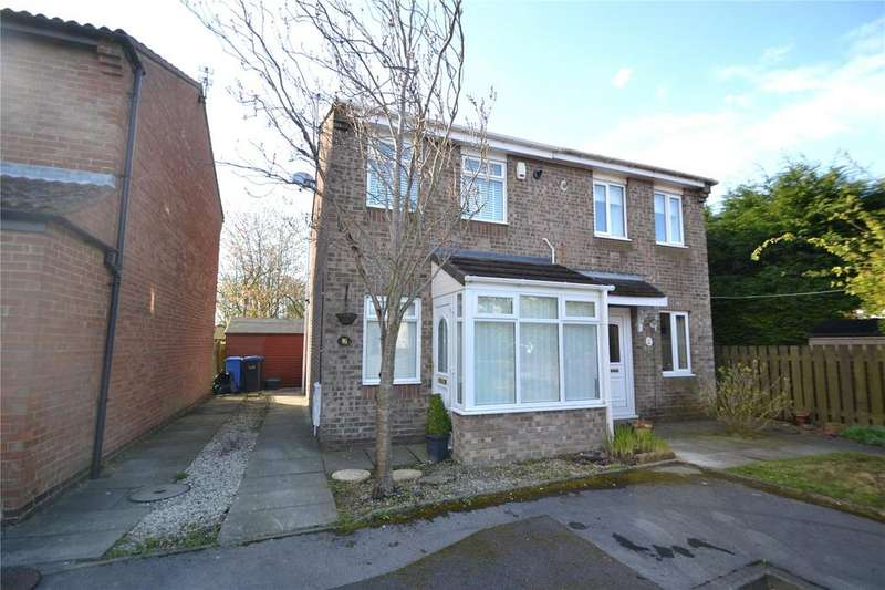 2 Bedrooms Semi Detached House for sale in Lindisfarne, Peterlee, Co.Durham, SR8