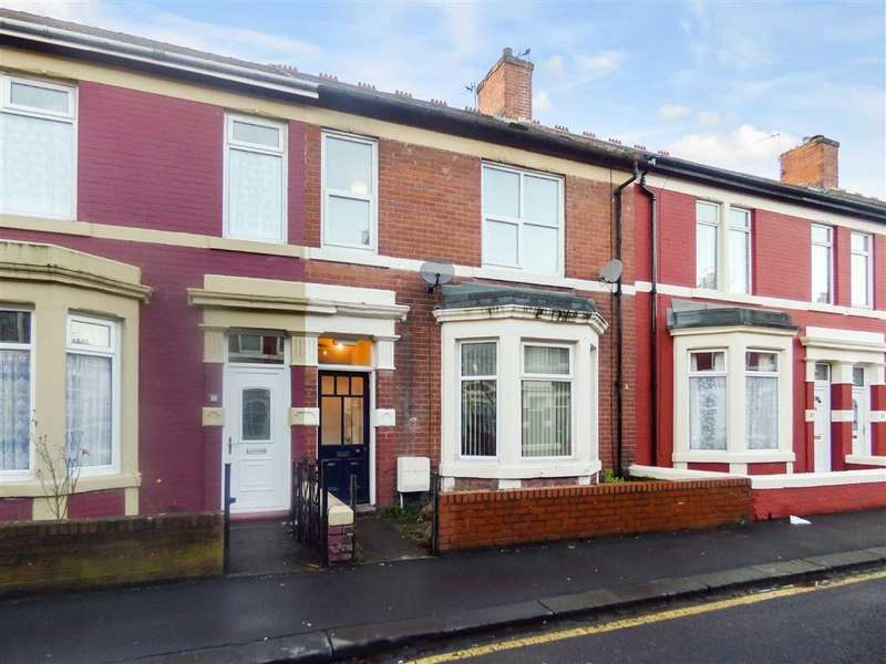 2 Bedrooms Flat for sale in Laburnum Avenue, Wallsend, Tyne And Wear