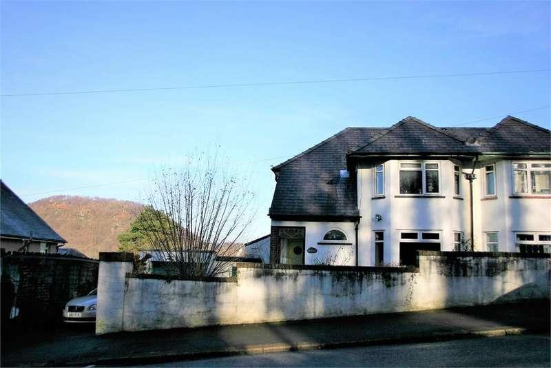3 Bedrooms Semi Detached House for sale in Bathol Common Road, Pontypridd, Rhondda, Cynon, Taff, CF37 4AF