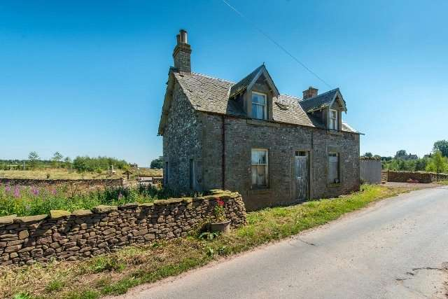 Detached House for sale in Former Farmhouse, Whiteknowes, Westruther, Scottish Borders, TD3