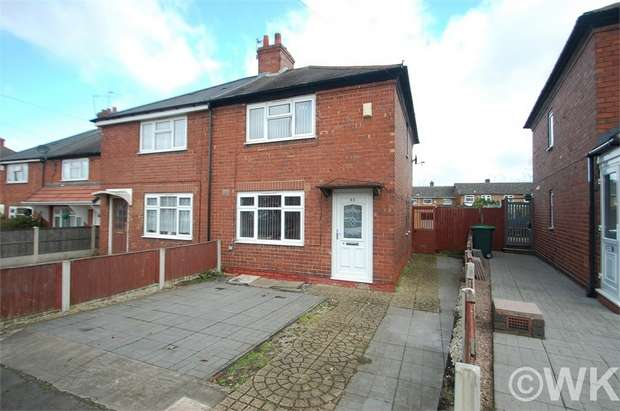 2 Bedrooms Semi Detached House for sale in Allerton Lane, WEST BROMWICH, West Midlands