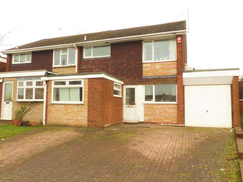 3 Bedrooms Semi Detached House for sale in Appledore Road, Walsall