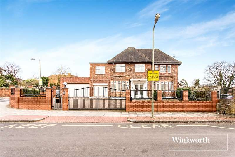 5 Bedrooms Detached House for sale in Chalgrove Gardens, Finchley, London, N3