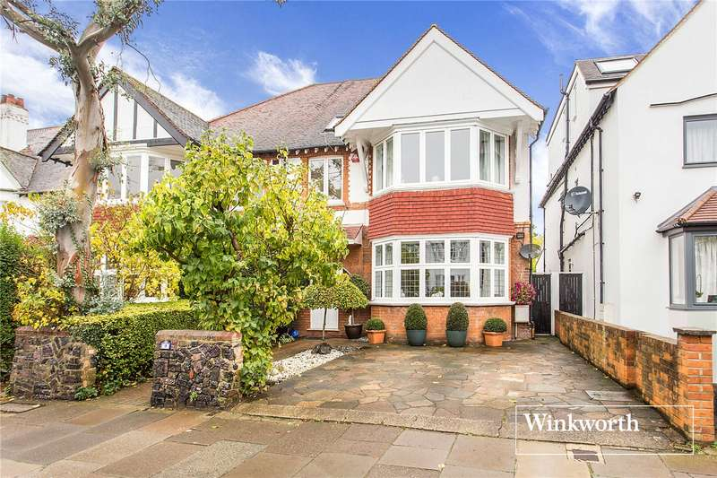6 Bedrooms Semi Detached House for sale in Lyndhurst Gardens, Finchley, London, N3