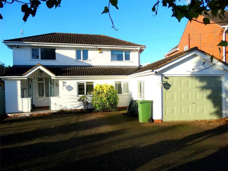 4 Bedrooms Detached House for sale in Elizabeth Avenue Worcester Worcestershire WR3