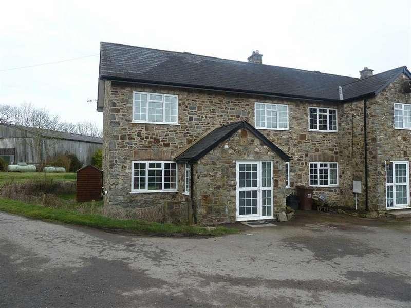 3 Bedrooms Semi Detached House for rent in Exebridge, Dulverton, Somerset, TA22