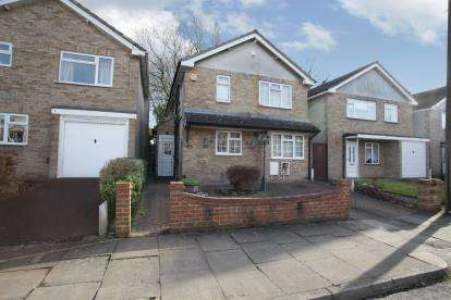 3 Bedrooms Detached House for sale in Newbury Close, Luton, Bedfordshire, Challney