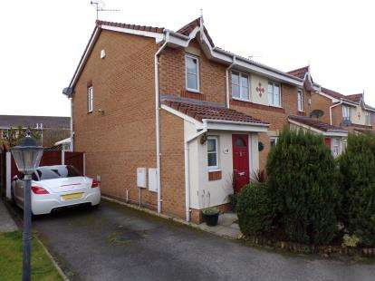 3 Bedrooms Semi Detached House for sale in Telford Drive, St. Helens, Merseyside, WA9