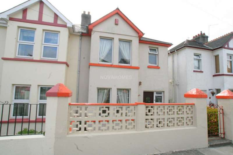 3 Bedrooms Semi Detached House for sale in South Down Road, Beacon Park, PL2 3HW