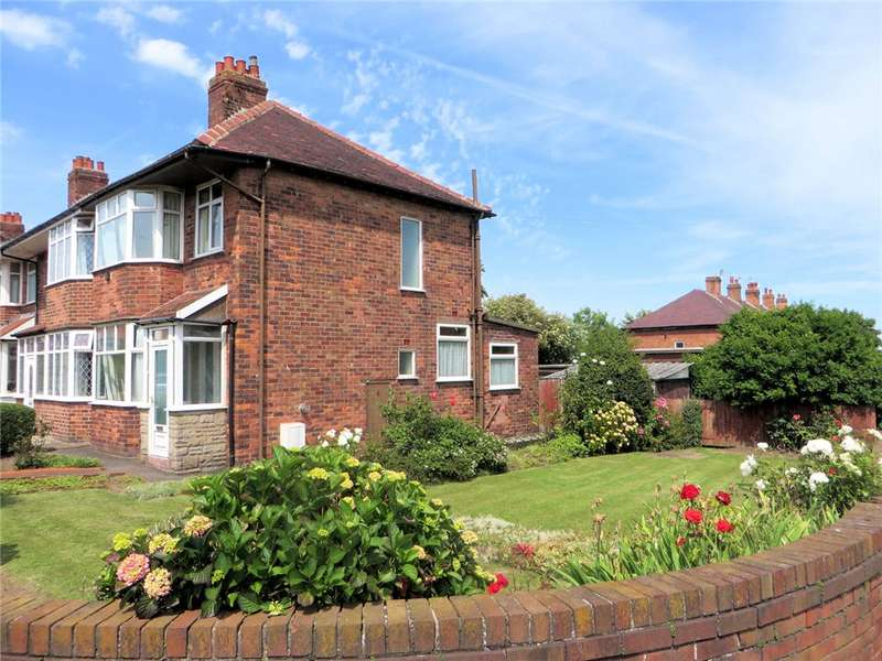 3 Bedrooms End Of Terrace House for sale in Mexford Avenue, North Shore, Blackpool