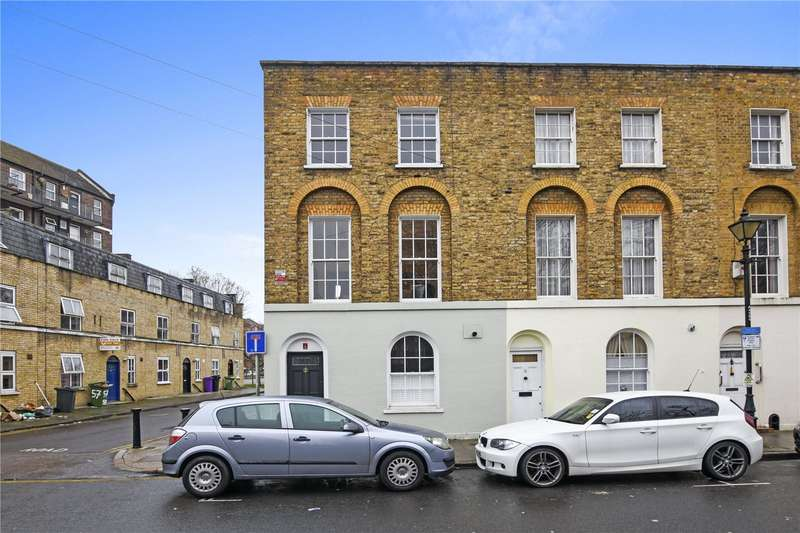 3 Bedrooms End Of Terrace House for sale in Arbour Square, London, E1