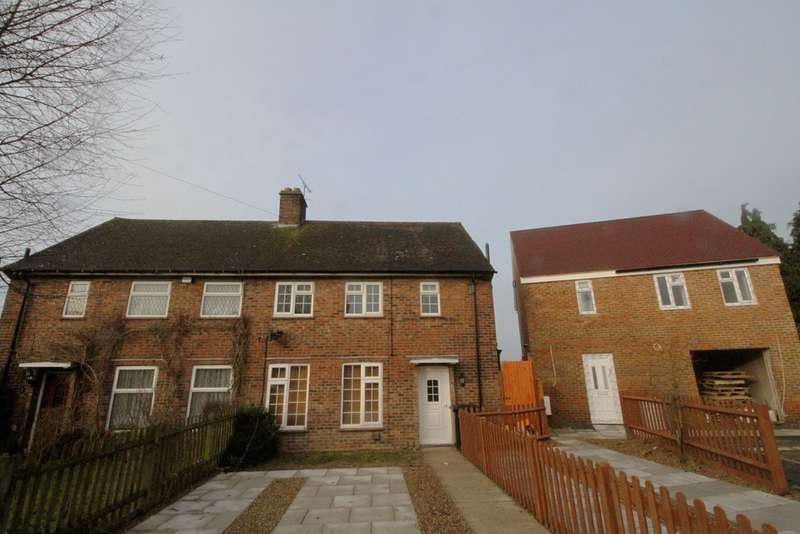 4 Bedrooms Semi Detached House for sale in Hillfield Road, Dunton Green
