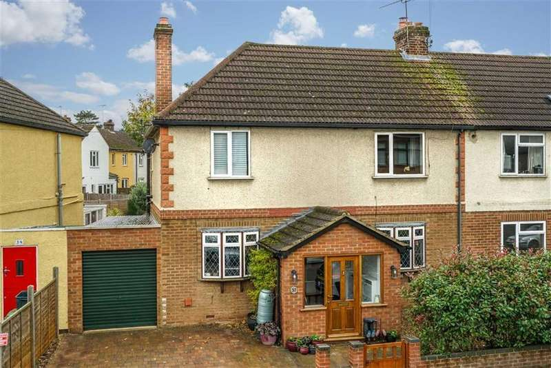 4 Bedrooms Semi Detached House for sale in Grove Road, Harpenden, Hertfordshire