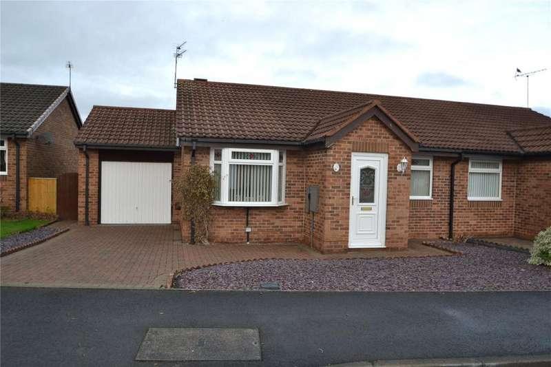 2 Bedrooms Semi Detached Bungalow for sale in Dormand Drive, Peterlee, Co Durham, SR8