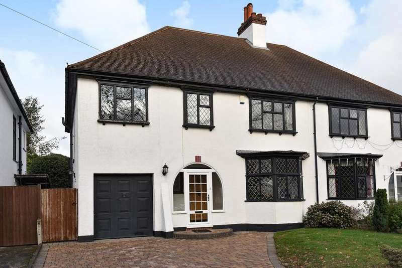 4 Bedrooms Semi Detached House for sale in Greencourt Road, Petts Wood