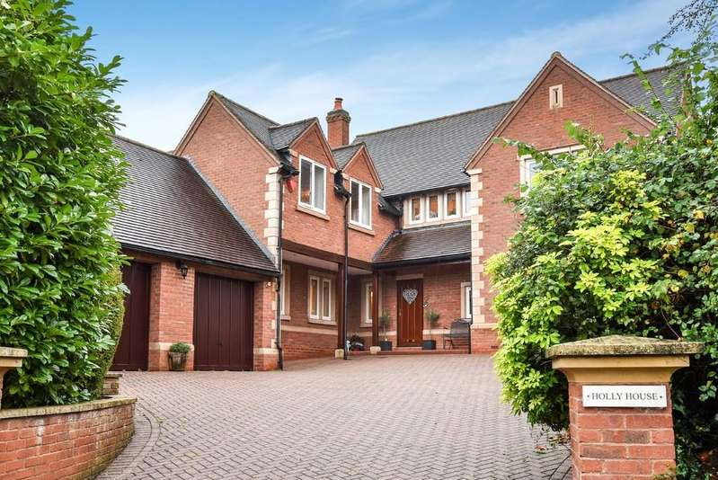 4 Bedrooms Detached House for sale in Goldicote Road, Loxley, Warwickshire