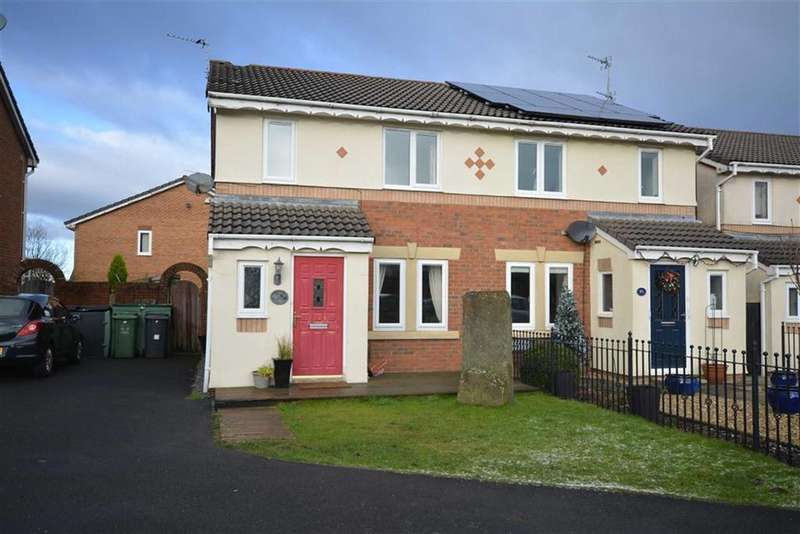 3 Bedrooms Semi Detached House for sale in Simmons Way, Clayton Le Moors, Lancashire, BB5