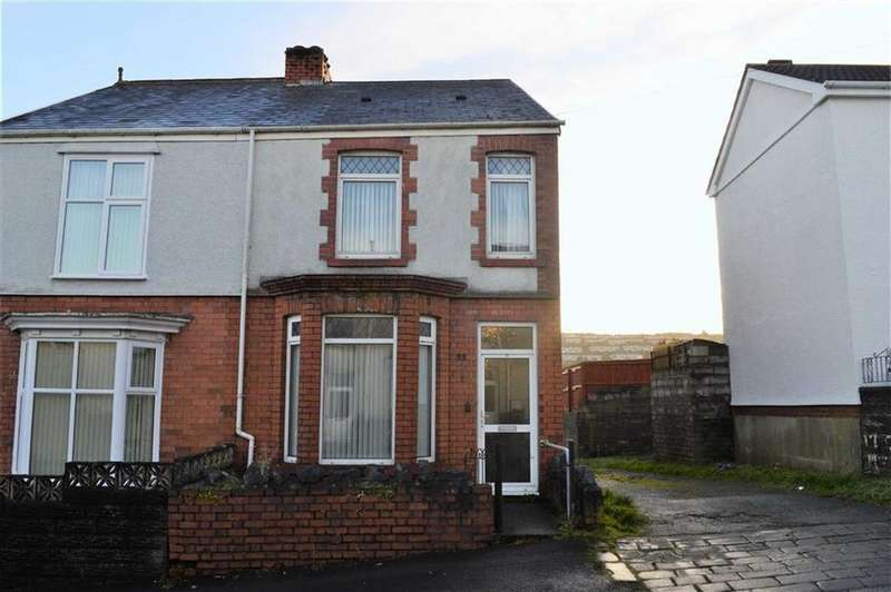 2 Bedrooms Semi Detached House for sale in Alice Street, Swansea, SA5
