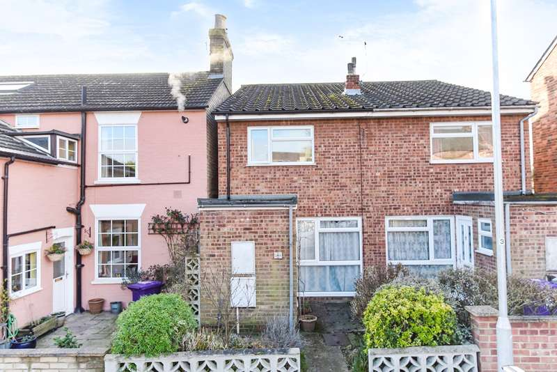 2 Bedrooms Semi Detached House for sale in Bedford Street, Hitchin, SG5