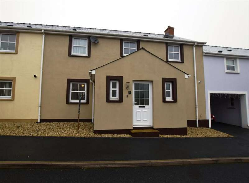 3 Bedrooms Terraced House for sale in Hall Court, Johnston, Haverfordwest