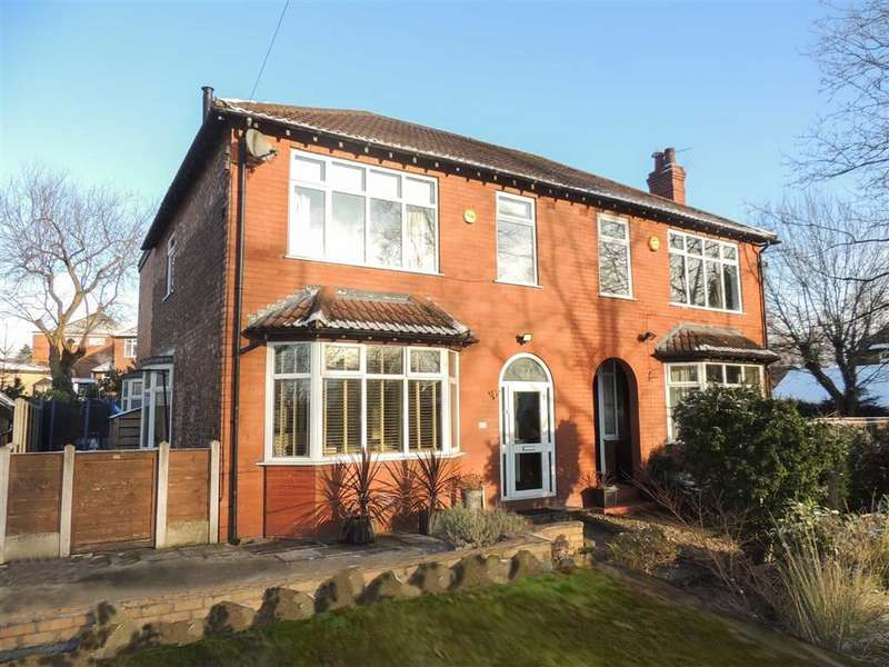 4 Bedrooms Semi Detached House for sale in Compstall Road, Romiley, Stockport