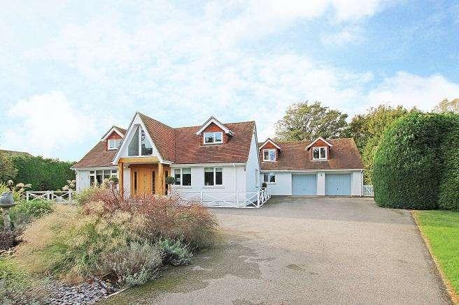 5 Bedrooms Detached House for sale in Marsh Lane, Runcton PO20