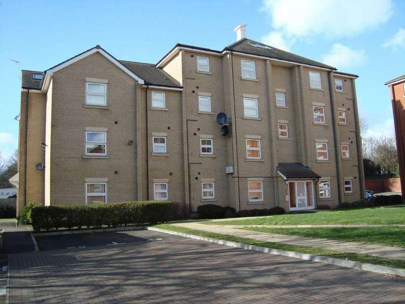 2 Bedrooms Ground Flat for rent in Maltings Way, Bury St Edmunds