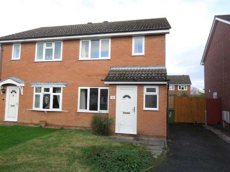 3 Bedrooms Semi Detached House for rent in Crawford Meadow, Shrewsbury, SY3