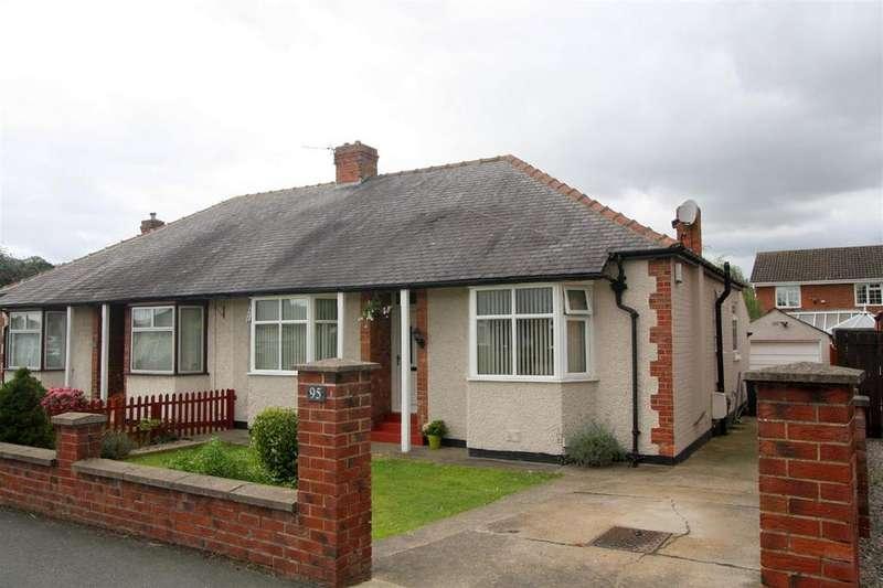 2 Bedrooms Semi Detached Bungalow for sale in Barmpton Lane, Darlington
