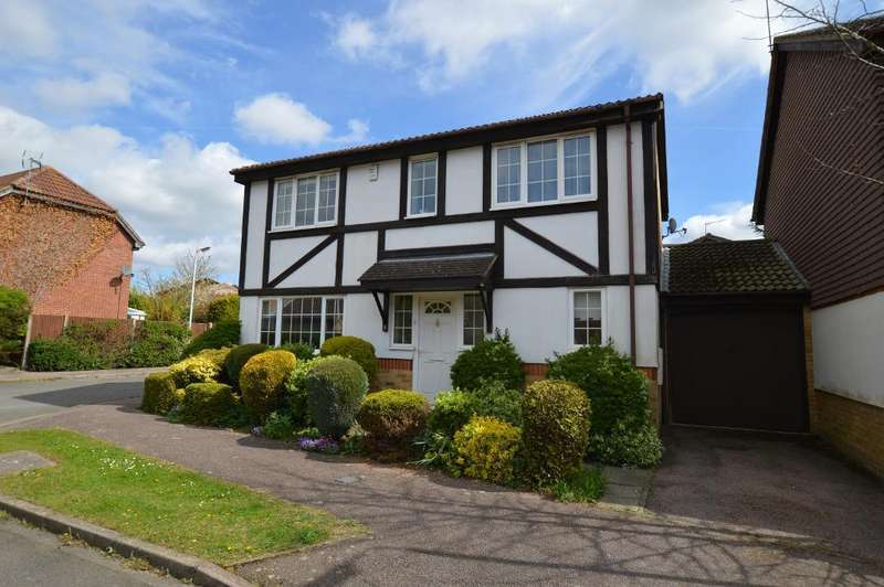 4 Bedrooms Detached House for sale in The Magpies, Luton, LU2 7XT