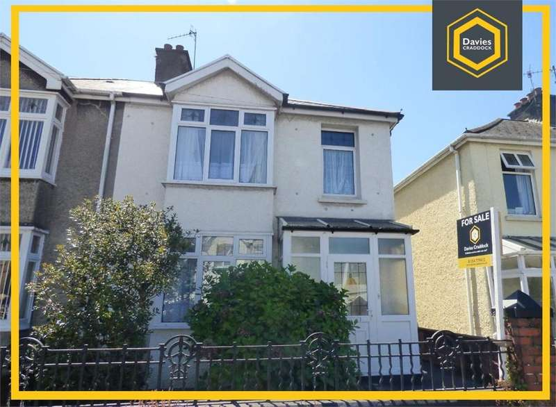 3 Bedrooms Semi Detached House for sale in 31 Stradey Park Avenue, Llanelli, SA15
