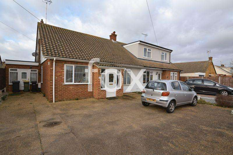 4 Bedrooms Semi Detached Bungalow for sale in Ashcombe, Rochford