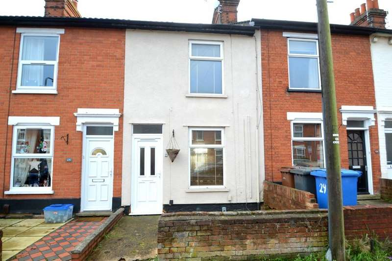 2 Bedrooms Terraced House for sale in Rosebery Road, Ipswich, IP4 1PS