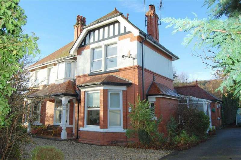 3 Bedrooms Apartment Flat for sale in Whitehall Road, Rhos On Sea, Colwyn Bay