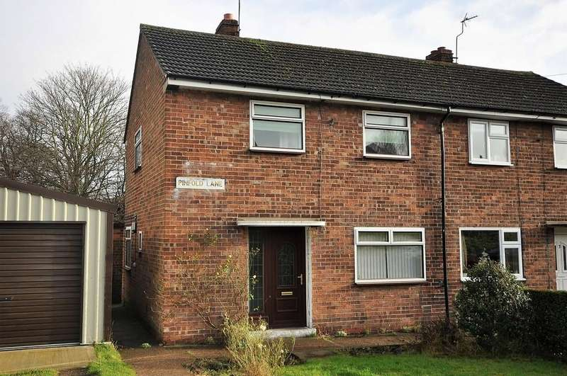 2 Bedrooms Semi Detached House for sale in Pinfold Lane, Thorne