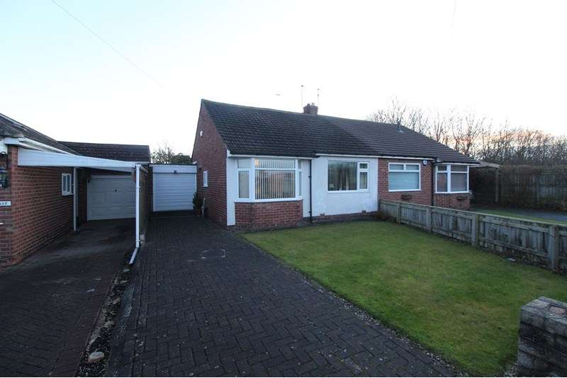 2 Bedrooms Bungalow for sale in Worcester Way, Wideopen, Newcastle upon Tyne, Tyne and Wear, NE13 6JD