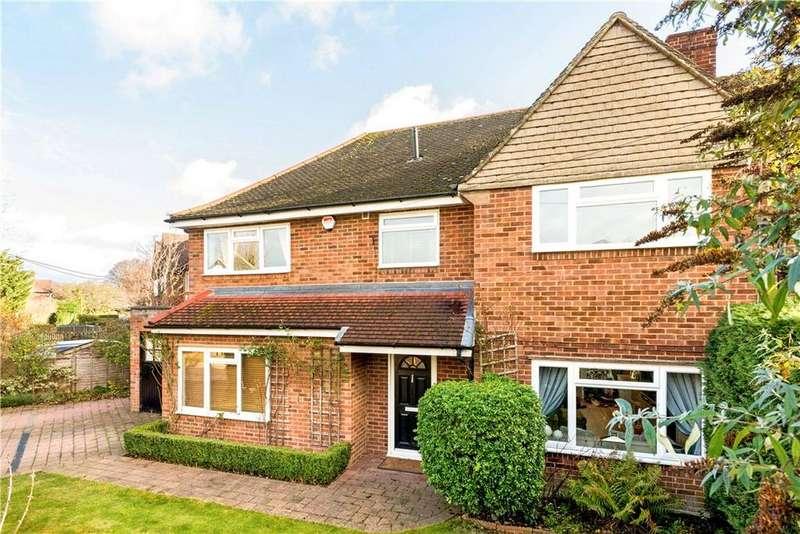 4 Bedrooms Semi Detached House for sale in D'abernon Drive, Stoke D'abernon, Cobham, Surrey, KT11