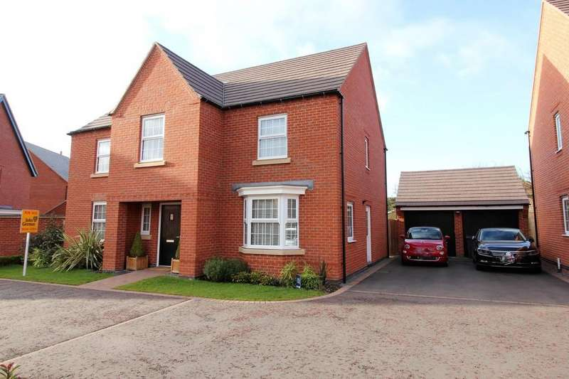 4 Bedrooms Detached House for sale in Terracotta Mews, Measham