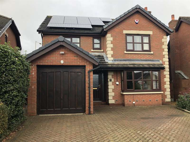4 Bedrooms Detached House for sale in Greenacres, Freckleton