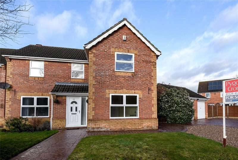 4 Bedrooms Detached House for sale in Russell Crescent, Sleaford, NG34