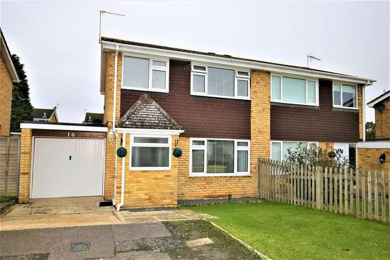 3 Bedrooms Semi Detached House for sale in Eddington Close, Maidstone