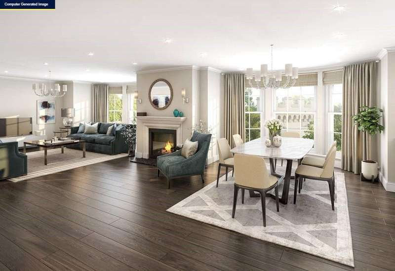 3 Bedrooms Flat for sale in Apartment 3, Beckford Gate, Lansdown Road, Bath, BA1