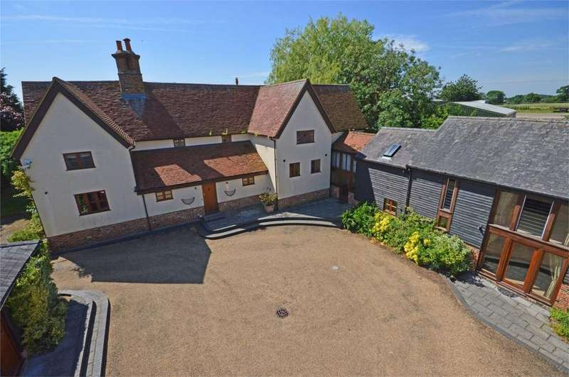 4 Bedrooms Detached House for sale in Mill End, Sandon, Buntingford