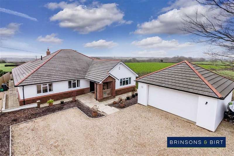 4 Bedrooms Detached Bungalow for sale in Old Rectory Drive, St Nicholas, Vale Of Glamorgan