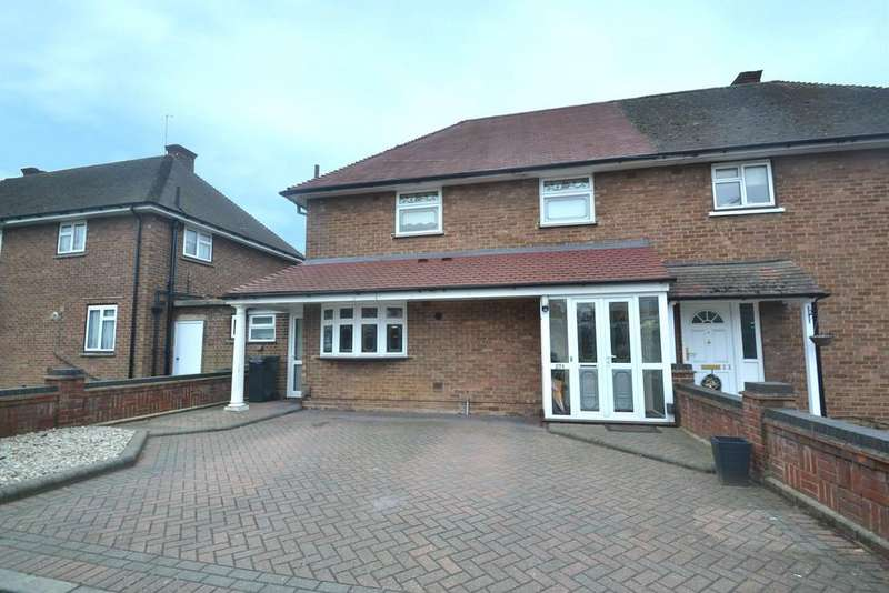3 Bedrooms Semi Detached House for sale in Chase Cross Road, Chase Cross