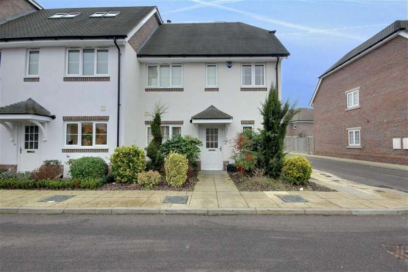 3 Bedrooms End Of Terrace House for sale in Charrington Close, Shenley, Hertfordshire