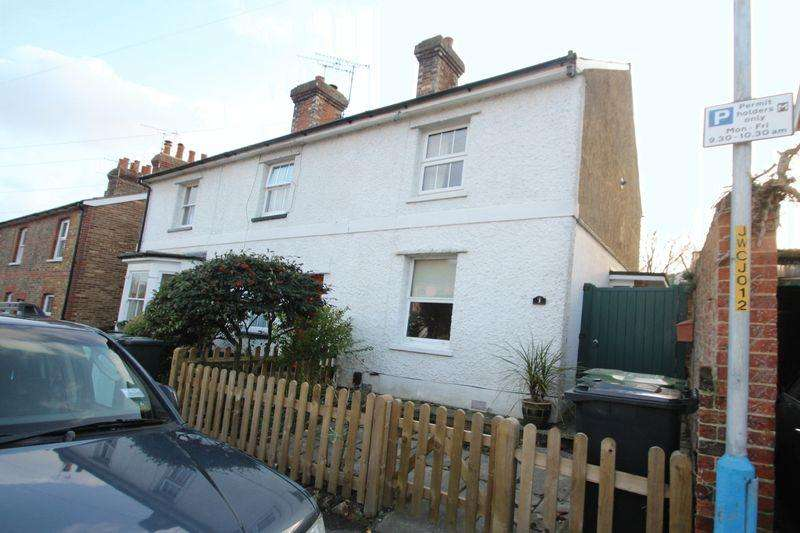 2 Bedrooms Terraced House for sale in Woodside Road, Tonbridge