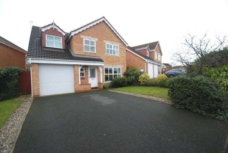 4 Bedrooms House for rent in Cornwall Drive, Stafford, ST17 0FT