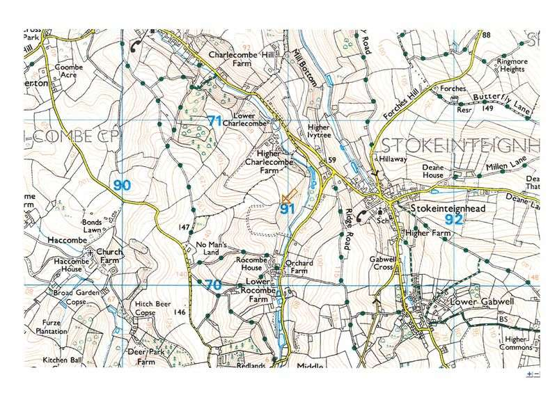 Property for sale in Between Charlecombe and Rocombe, Stokeinteignhead, Newton Abbot